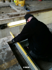brake tester installation